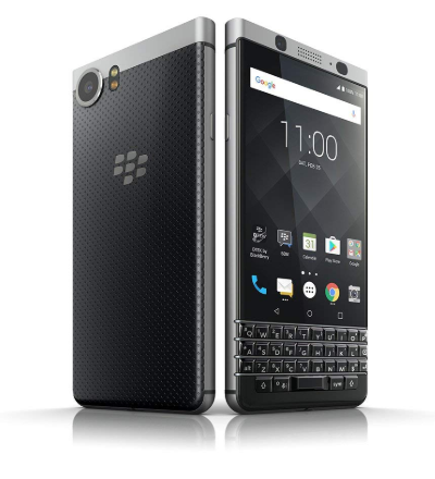 Smartphones with the best battery life, black blackberry key one