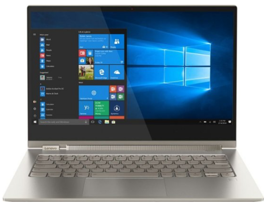 Lenovo Yoga C930, laptop with best battery life