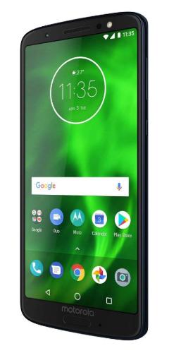 Smartphones with the best battery life, black motorola moto g6
