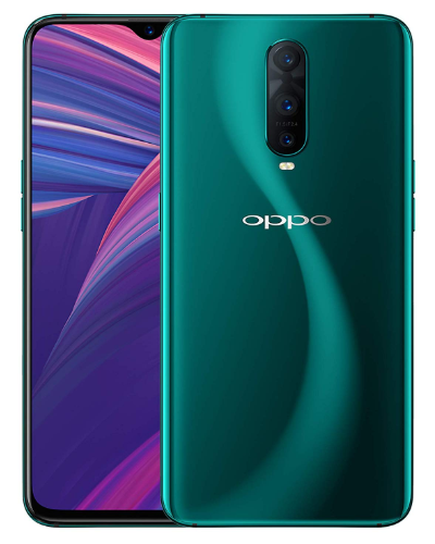Smartphones with the best battery life, green Oppo R17 pro
