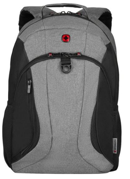 """Wenger SwissGear Backpack for 16"""" Laptop - Black/Heather, laptop bag"""