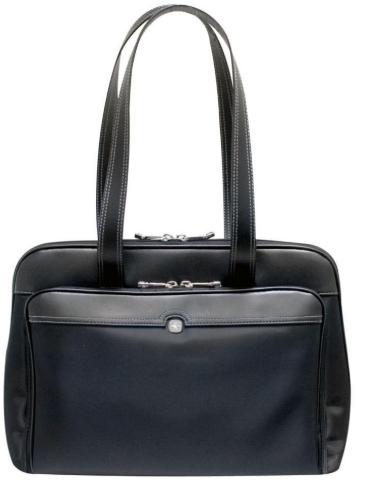 Wenger SwissGear Rhea Women's 15.4 Inch Laptop Tote Bag - Black, laptop bag