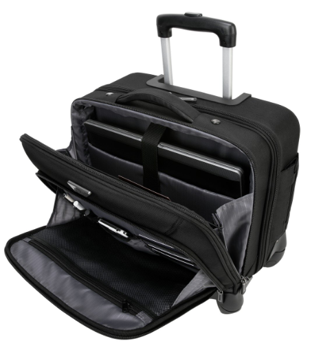 Targus Mobile VIP 4-Wheeled Rolling Briefcase, laptop bag