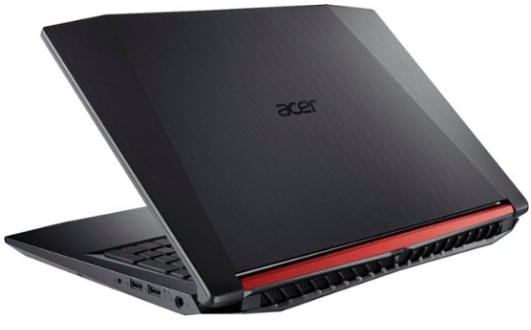 Back face of the Acer Nitro