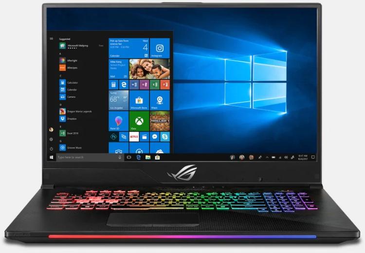 Asus gaming laptop ASUS ROG Strix SCAR II GL704GM