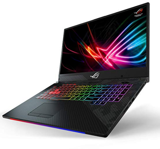 Best Buy Gaming Laptop, ASUS ROG sideview