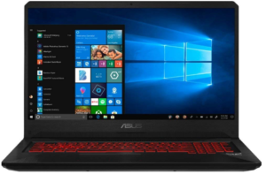 ASUS gaming laptop ASUS TUF FX705GM