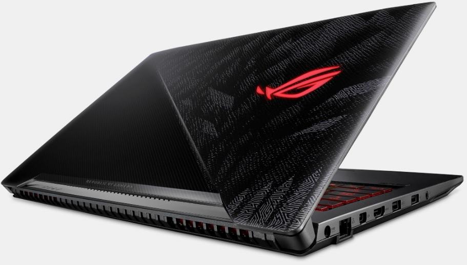 Best Buy Gaming Laptop, ASUS ROG back view