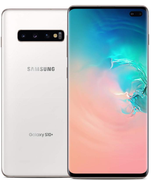 Top-ranked smartphones, Samsung S10 Plus, main view