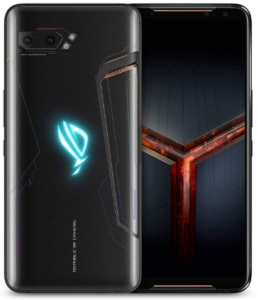 Top rated smartphones, Asus ROG Phone 2, front and back view 2