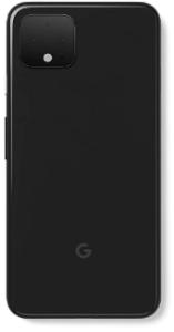 Top rated smartphones, back view Google Pixel 4XL