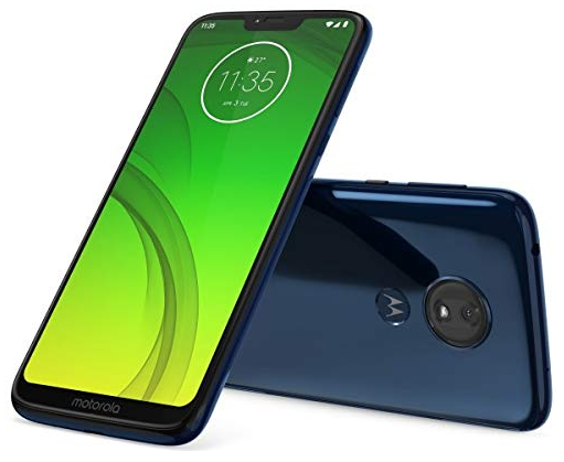 front and back view of the Motorola Moto G7 Power