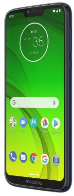 Top rated smartphones, Motorola Moto G7 Power, side front view