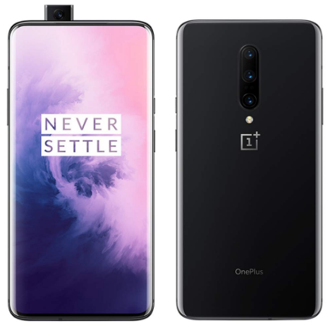 front and back view of the OnePlus 7 Pro