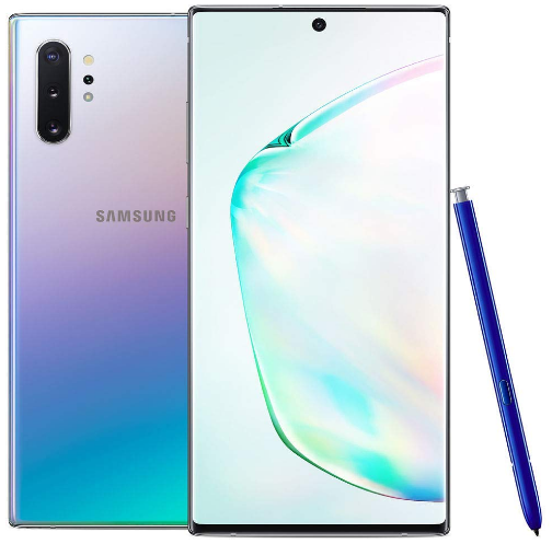 Front View Samsung Galaxy Note 10 Plus