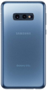 back view, Samsung Galaxy S10e