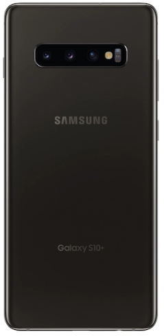 Top rated smartphones, back view, Samsung Galaxy S10 Plus