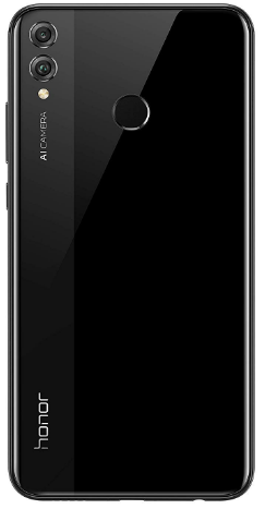 front view Honor 8x. Top-rated Budget Phone