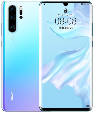 Top-rated Smartphone, the Crystal Huawei P30 Pro