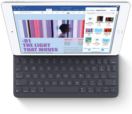 top-rated tablet, apple ipad 10.2 with keyboard