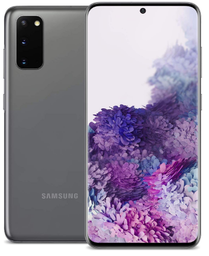 Latest Samsung Phone - Main view Samsung Galaxy S20