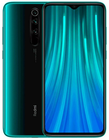 Best budget android phone, green Xiaomi Redmi Note 8 Pro
