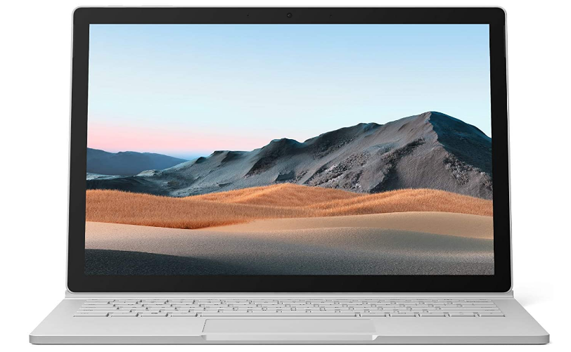 Microsoft Surface Book 3 review of the main front view