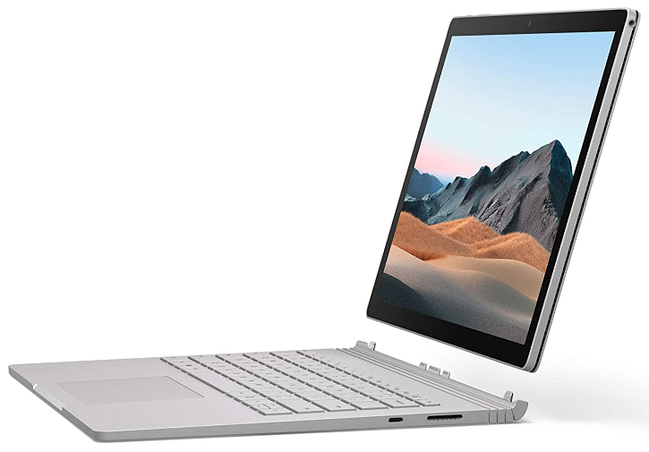Microsoft Surface Book 3 review of the detachable keyboard