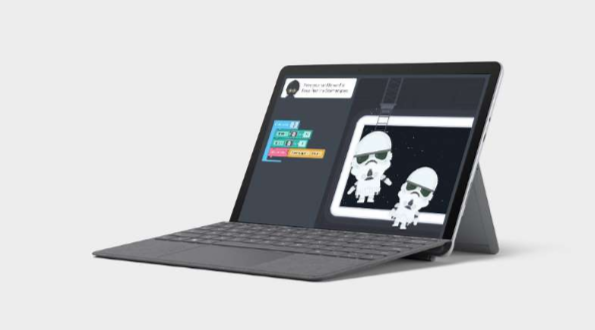 Microsoft laptop, Laptop mode Surface Go 2
