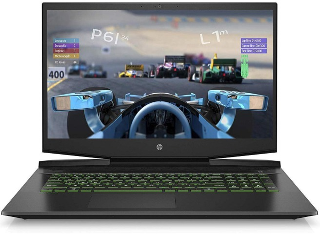 good but cheap gaming laptops, HP Pavilion 17