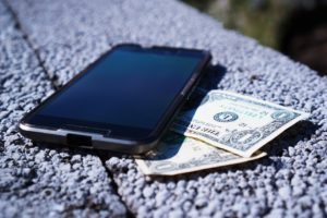 mobile phone money