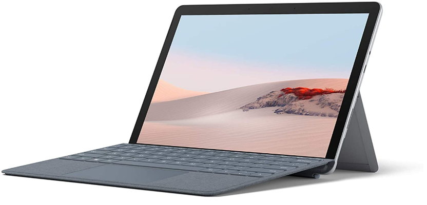 Microsoft Surface Go 2 review, main tablet view