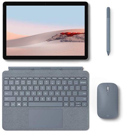 Microsoft Surface Go 2 review, main accessories